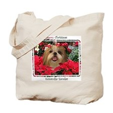 Samantha Shih Tzu Christmas Tote Bag