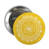 Gold Flower Doilie Button