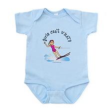 Blonde Water Skier Infant Bodysuit