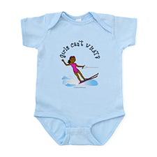 Dark Water Skier Infant Bodysuit