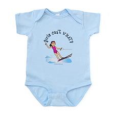 Light Water Skiing Infant Bodysuit
