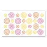 Flower Doilies Decal