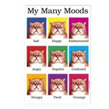 Cute Cats Postcards (Package of 8)