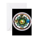 Native American Mandala Greeting Card