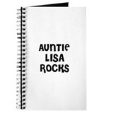 AUNTIE LISA ROCKS Journal