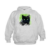 Black Cat & Snowflakes Hoody
