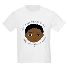 God Brought Me Home African B T-Shirt
