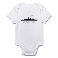 Fireworks Over Cleveland Infant Bodysuit
