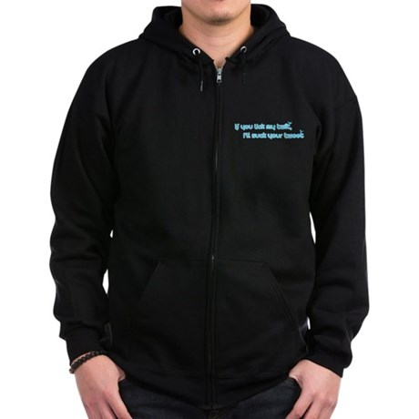 I'll Suck Your Tweet Zip Dark Hoodie