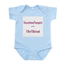 Recreational Therapist Infant Creeper