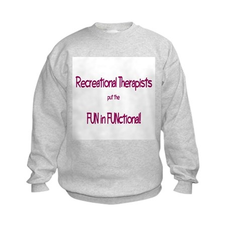 Recreational Therapist Kids Sweatshirt