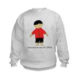 God Made Me in China-Boy Sweatshirt