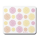 Flower Doilies Mousepad