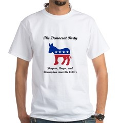 Dems Party of Despair White T-Shirt