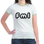 FML Jr. Ringer T-Shirt
