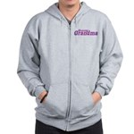 Groovy Grandma Zip Hoodie