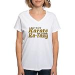 I don't Know Karate Women's V-Neck T-Shirt