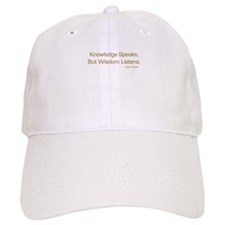 Knowledge Speaks Baseball Cap