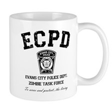 Evans City Police Dept Zombie Task Force Coffee Mug