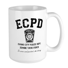 Evans City Police Dept Zombie Task Force Mug