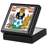 Cool Football Keepsake Box