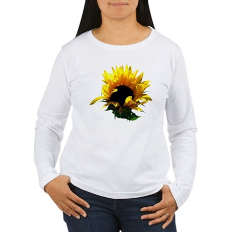 Sunflower Sunrise Women's Long Sleeve T-Shirt