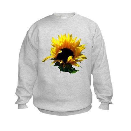 Sunflower Sunrise Kids Sweatshirt