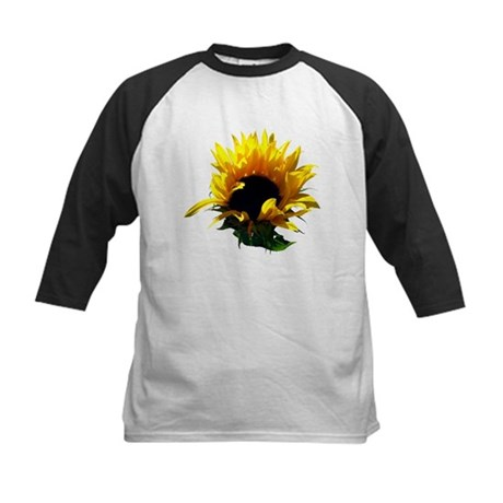 Sunflower Sunrise Kids Baseball Jersey