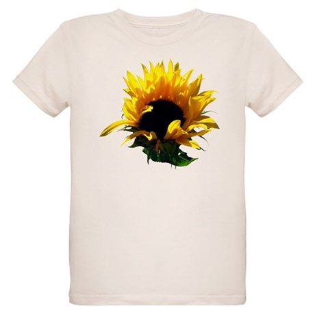 Sunflower Sunrise Organic Kids T-Shirt