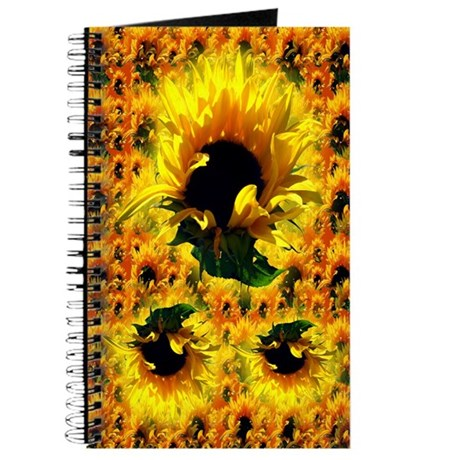 Sunflower Sunrise Journal