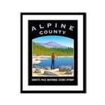 Alpine Country Framed Panel Print