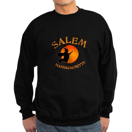 Salem Massachusetts Witch Sweatshirt (dark)
