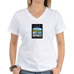 Alpine County Women's V-Neck T-Shirt