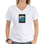 Hiking Women's V-Neck T-Shirt