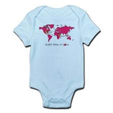 Miles of Love - Ethiopia Infant Bodysuit