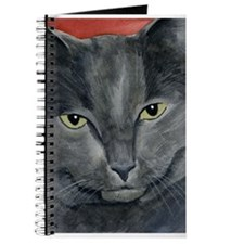 Russian Blue Cat Journal