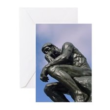 The Thinker - Greeting Cards (Pk of 10)