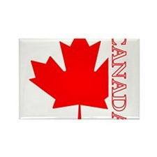Candian Maple Leaf Rectangle Magnet