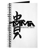 MMA Kanji Honor - Black Logo Journal