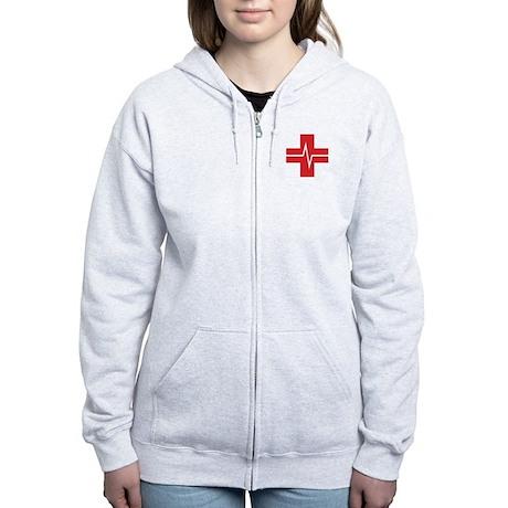 Shock Trauma Women's Zip Hoodie (2 SIDED)