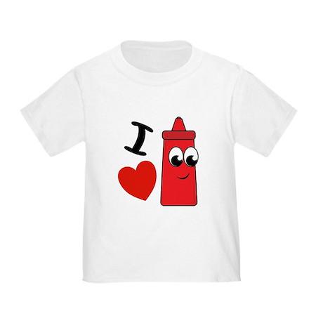 I Heart Ketchup shirt