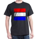 Luxembourg Black T-Shirt