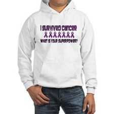 Purple Superpower Hoodie