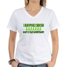 Lime Superpower Shirt