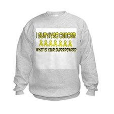 Yellow Superpower Sweatshirt