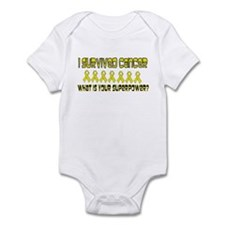 Yellow Superpower Infant Bodysuit