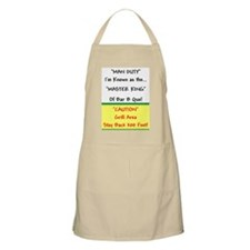 TGY Man Duty Master King of BBQ Apron