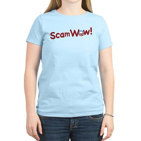 Obama ScamWow! Women's Light T-Shirt