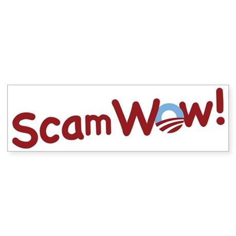 Obama ScamWow! Bumper Sticker