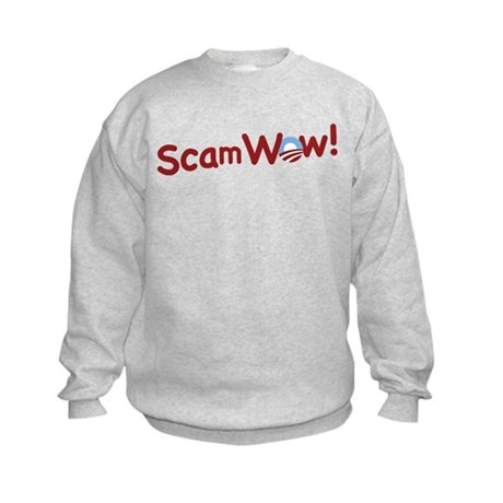 Obama ScamWow! Kids Sweatshirt